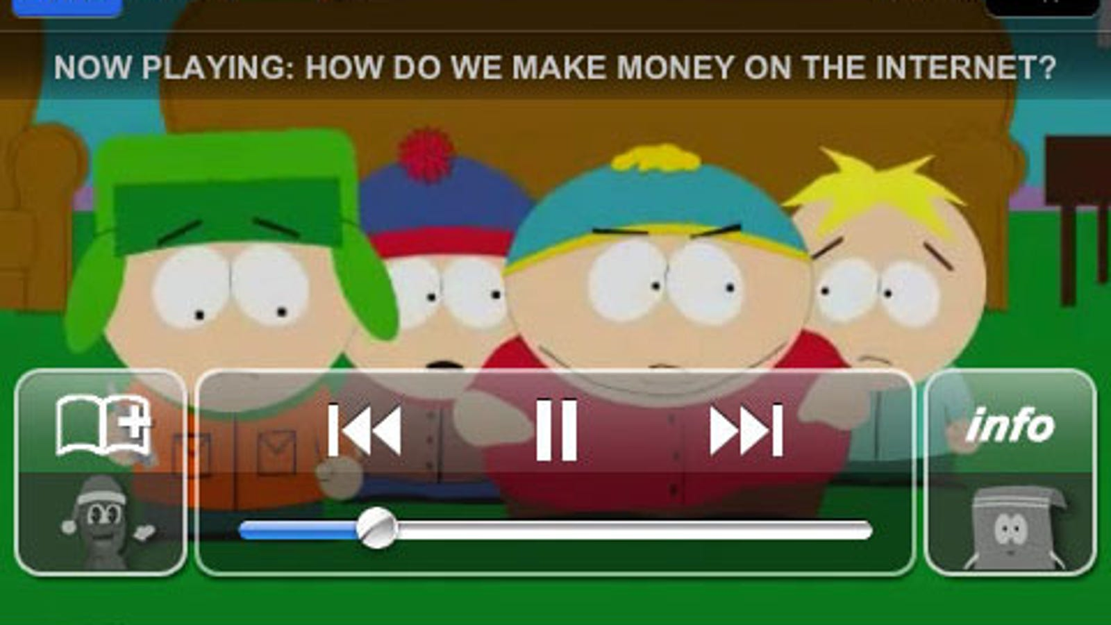 South Park Iphone App Looks Awesome Almost Perfect