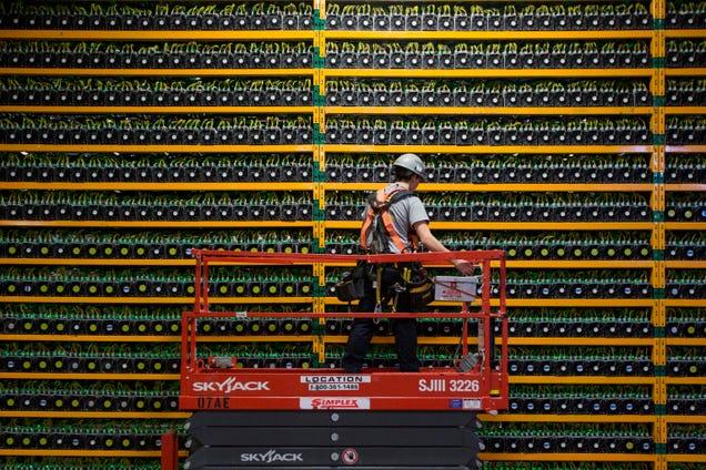 This Solar Crypto Mine Plan Is Stranger Than Fiction