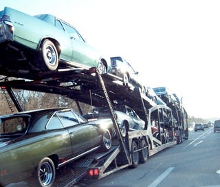 Illustration for article titled Can You Identify All The Collector Cars On These Dreamer Carriers?