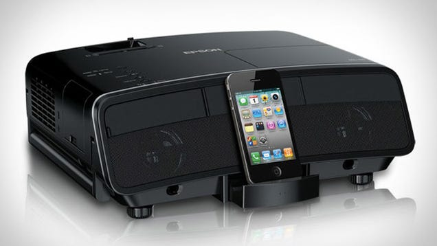 This projector will turn your ipad into your personal home for Apple projector for ipad