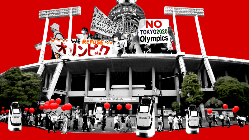 Illustration for article titled The Olympics Are Coming To Tokyo, And So Is The Movement To Kill The Games Forever