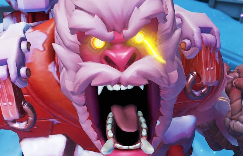 Illustration for article titled Overwatch Gets Yeti Boss Fight