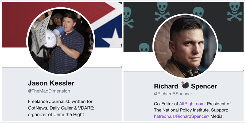 White nationalists among those accounts that lose blue checkmark — Twitter verification purge