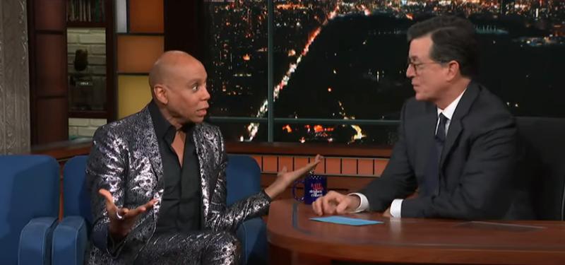 RuPaul, Stephen Colbert
