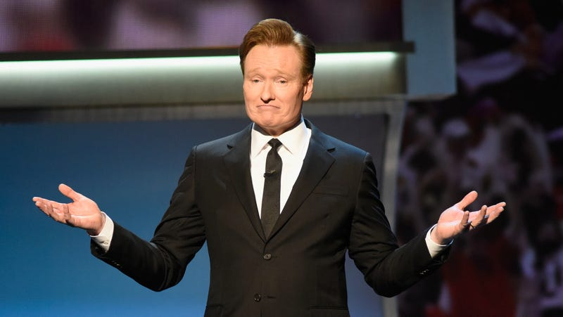 "Illustration for article titled America's funnyman Conan O'Brien here to remind us that ""all our graves go unattended"""