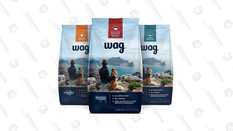 Wag Dry Dog Food Trial-Size Bag Multipack | $23 | Amazon | Clip the 40% coupon