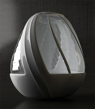 Illustration for article titled Cocoon Egg Shower Concept Let's You Pretend You're In Darth Vader's Isolation Pod Gallery
