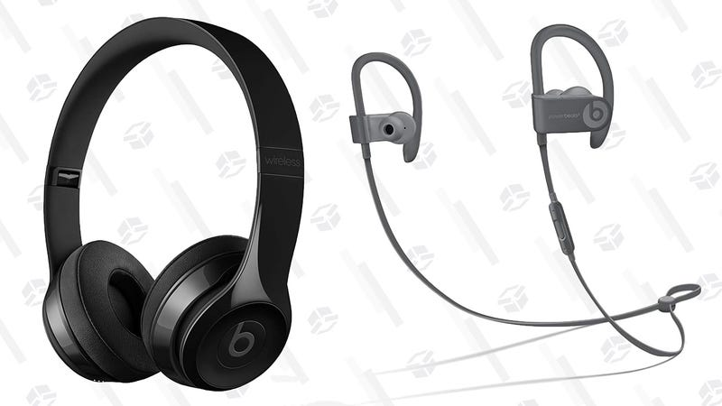 Beats Solo3 Wireless On-Ear Headphones | $240 | AmazonBeats Powerbeats 3 Wireless Exercise Earbuds | $90 | Amazon