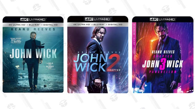 Get Some John Wick In Your Veins With Discounts on the 4K Movies