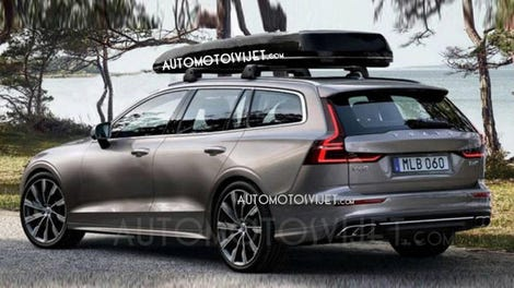 This Is The New 2019 Volvo V60 Before You Re Supposed To See It