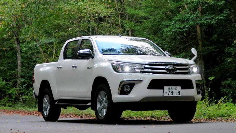 8th-generation Toyota Hilux, overall. Toyota's revered luxurious pickup truck was revived in Japan 13 years after demise.