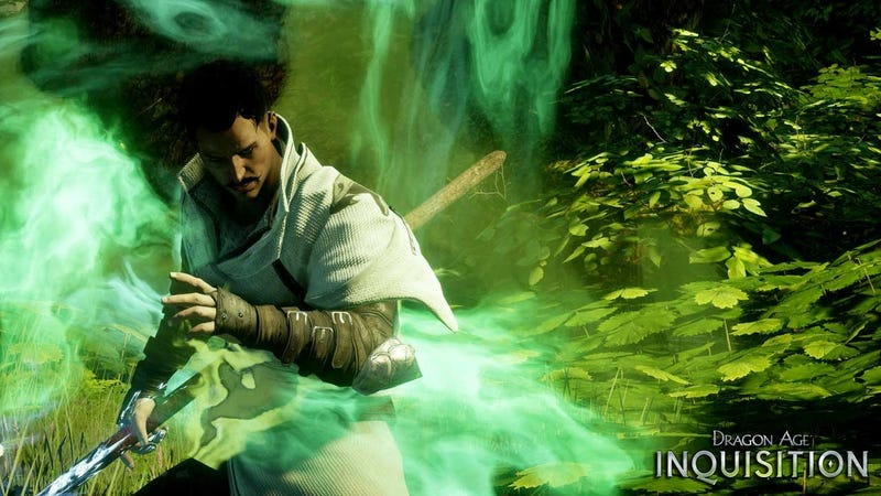 Illustration for article titled BioWare's First Gay Male Party Member Debuts In Dragon Age Inquisition