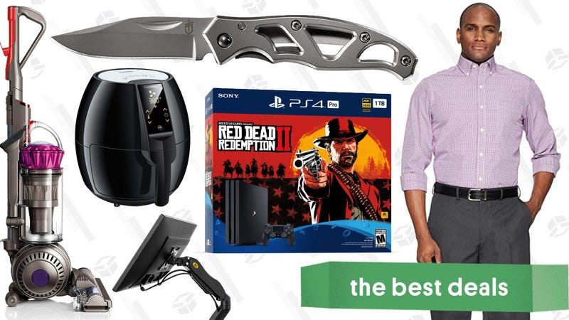 Illustration for article titled Thursday's Best Deals: Red Dead Redemption 2, Screen Mounts, Oakley Sunglasses, and More