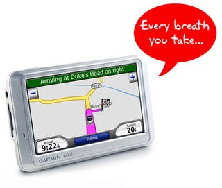 Illustration for article titled Your GPS Unit Can Tattle on You In Court