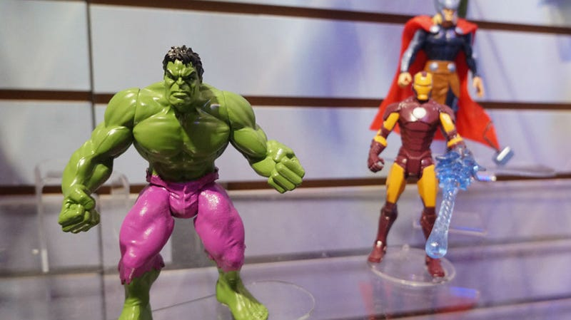 Illustration for article titled Avengers, Angry Birds and Star Trek Enterprises: Toy Fair 2013, Day 3