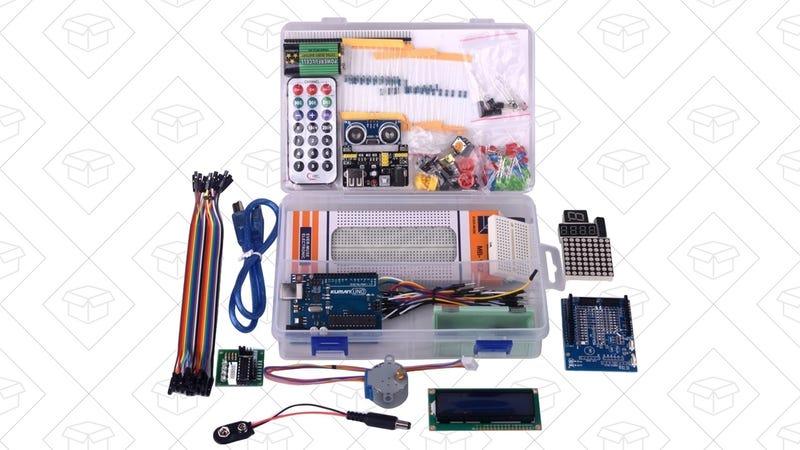 Kuman Arduino Starter Kit, $24 with code Y8RUT6SK