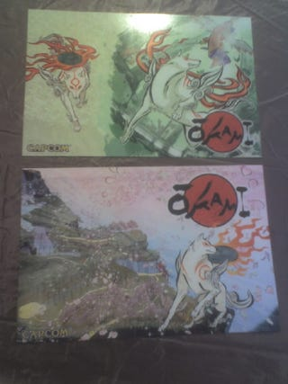 Illustration for article titled Okami Covers Finally Arrive