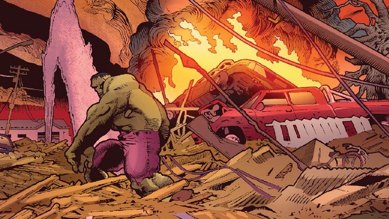 The Immortal Hulk Is Weaving a Haunting Legacy for All of Marvel's Gamma-Powered Heroes