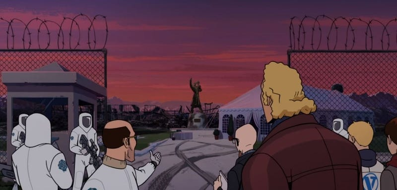 Illustration for article titled The family heads home on an excellent Venture Bros.
