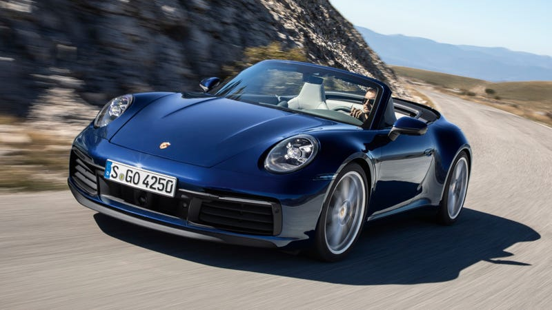 The 2020 Porsche 911 Carrera 4s Cabriolet Is Almost As Quick
