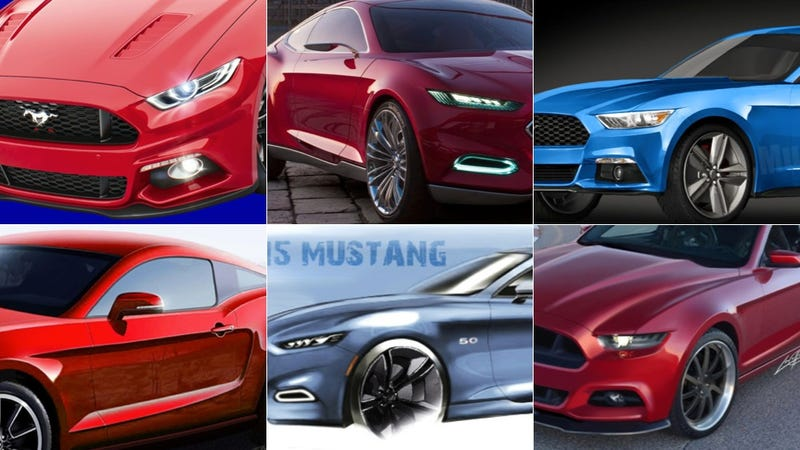 Illustration for article titled Everything You Need To Know About the 2015 Ford Mustang