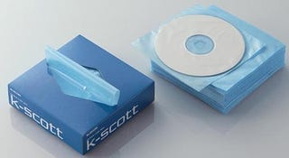 Illustration for article titled Elecom K-Scott CD Pouch Dispenser