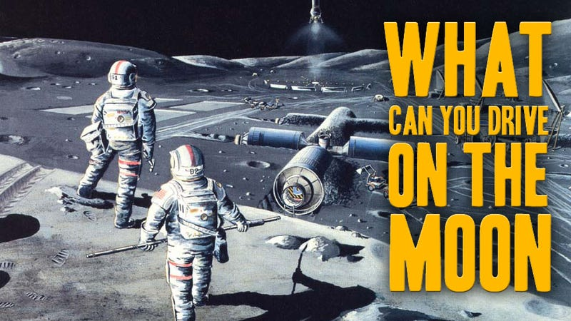 Illustration for article titled How To Build The Perfect Lunar Rover