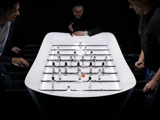 Illustration for article titled Eleven Design Makes Foosball Beautiful