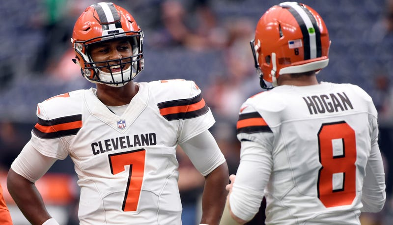 Hue Jackson names DeShone Kizer starter for Week 8