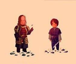 Illustration for article titled Everyone's Got A Smile In The Chibi Game of Thrones