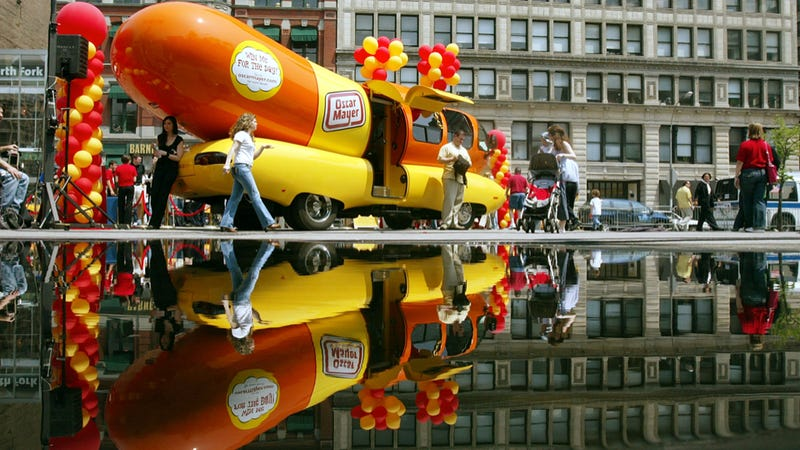 Fc Jeep Van as well 136384 besides Hotdog The Wienermobile Is  ing To Wisconsin besides Vintage Wienermobile Bank Oscar Mayer furthermore Wienermobile Fun Facts. on old oscar mayer wienermobile