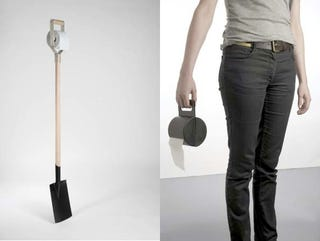 Illustration for article titled Toilet Paper Shovel Provides Easy Outdoor Relief