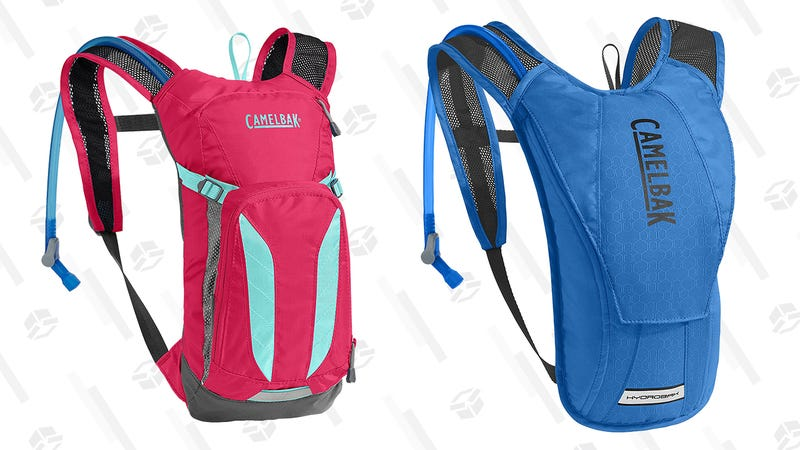 CamelBak Kids Mini M.U.L.E. and CamelBak HydroBak | $37, $35 respectively | Amazon