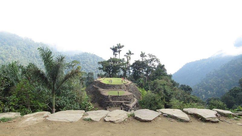 Panorámica de Ciudad Perdida, un conjunto visitable crecano al asentamiento recién descubierto.