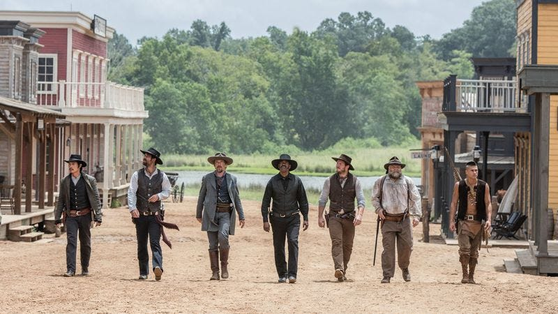 The Magnificent Seven (Photo: Photo: Columbia Pictures)