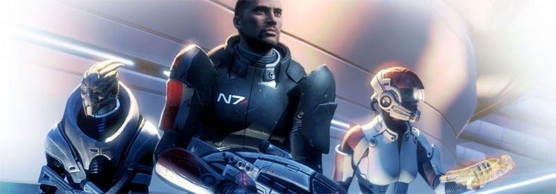 Illustration for article titled More Mass Effect DLC Loading In An Elevator Near You?