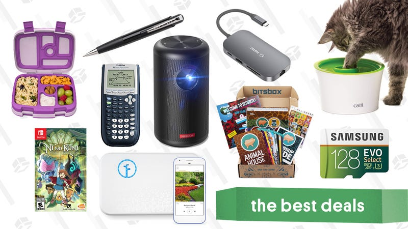 Illustration for article titled Friday's Best Deals: Bitsbox, Ni no Kuni, Space Pen, Giant TV, and More