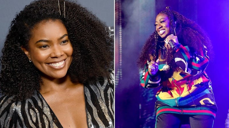 Illustration for article titled Gabrielle Union and Missy Elliott master time reversal with pitch-perfect Halloween costumes