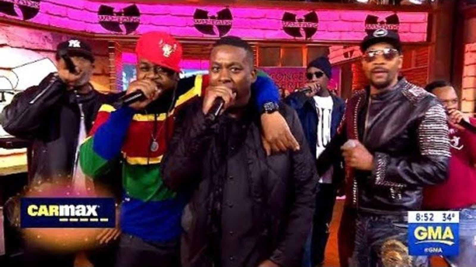 Actually, our timeline is good: Here's the Wu-Tang Clan on Good Morning America