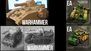 Illustration for article titled EA Says Warhammer-Looking Tanks Won't Show Up in Command & Conquer After All