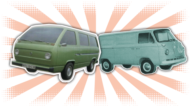Illustration for article titled These Design Studies For The Volkswagen Microbus Will Make Your Brain Hurt
