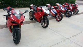 Illustration for article titled Buy Five Of Ducati's Greatest Superbikes With One Check For $90,000