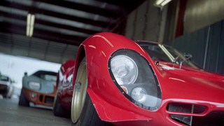 What does a Ferrari 330 look like on 120 Film?