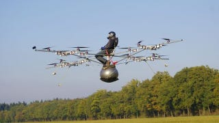 Illustration for article titled Amazing Multicopter Could Be Your Ticket to The Heavens