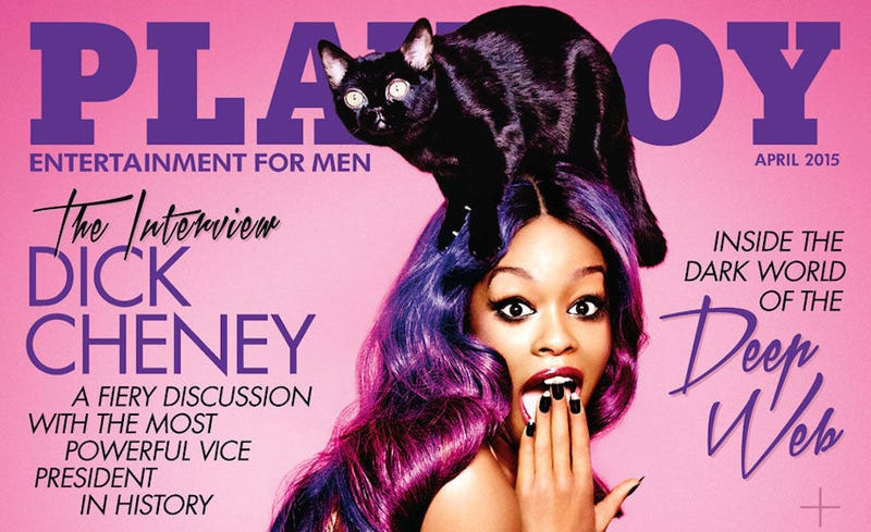 Illustration for article titled Azealia Banks's BonkersPlayboy Interview: Sex &a Stunned Kitty