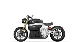 Illustration for article titled This Electric Superbike Packs Enough Juice for 185 Miles of Cruising