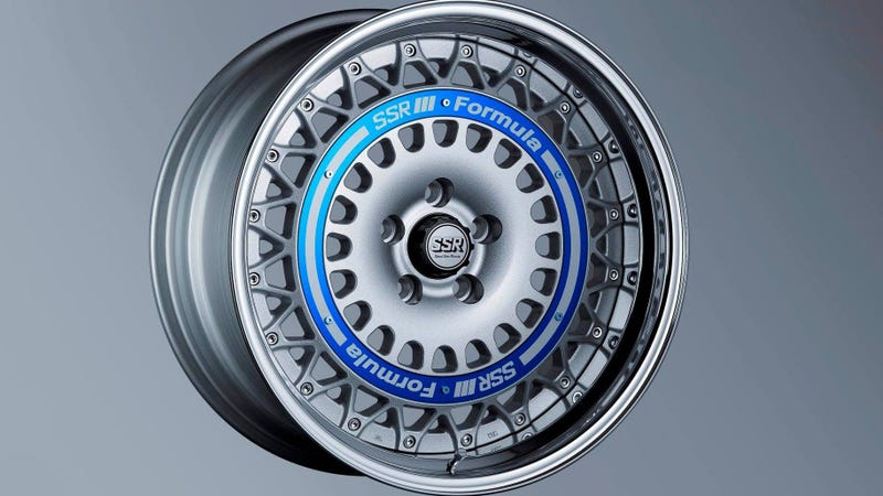 Illustration for article titled New Formula Aero Mesh Wheel From SSR Is The Throwback Look Your Car Needs This Summer