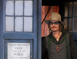 Illustration for article titled The BBC says there's no Doctor Who movie in the works. Not even with Johnny Depp.