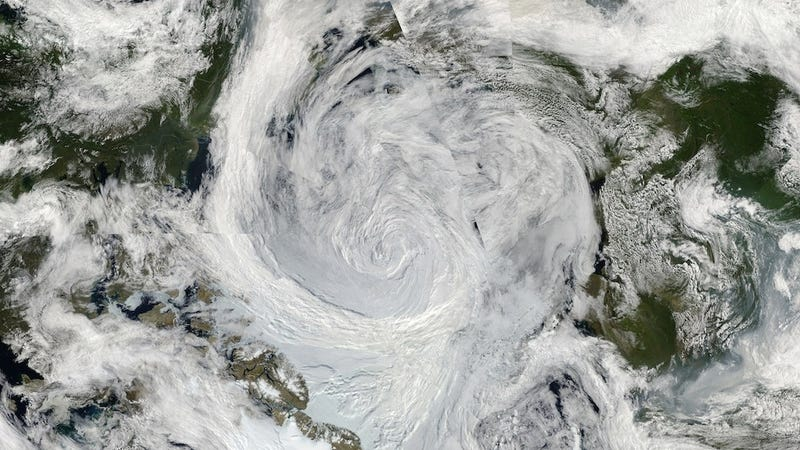 The Great Arctic cyclone of 2012.