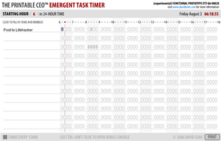 Illustration for article titled Keep track of your time with the Emergent Task Tracker, online edition